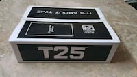 T25 BY Shaun T, from Beachbody, new and sealed  Toronto, M9V 1Z4