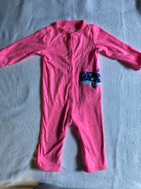 toddler's red footie sleeper Montgomery Village, 20886