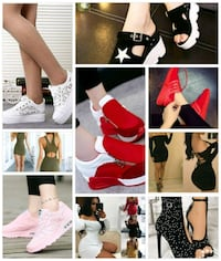 women's assorted clothes 843 km