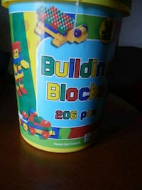 blue and yellow plastic tumbler Corcoran, 93212