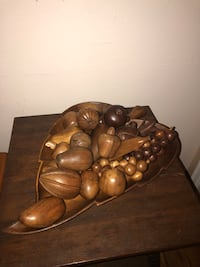 Vintage wood fruit with tray huge lot