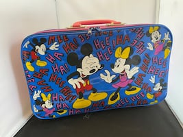 Mickey and Minnie Mouse Children's Suitcase