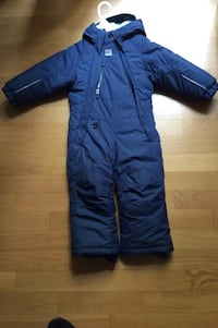 baby's blue over all suit Roma, 00192