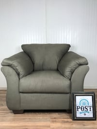 Large microsuede chair NEW Canby, 97013
