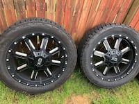 20 inch rims and off-road tires For trucks Baltimore, 21237