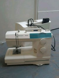 white and blue sewing machine needs rethreading Carmichael, 95608