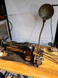 black and gray electric sewing machine Toronto, M1E 3T4