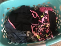 Girls clothes big basket of it variety of stuff justice and more some are used some are brandnew but excellent condition NEED GONE..lots of clothes ask me for me for sizes and questions..let me know if your interested asking $15 take all.. Wheaton, 60189