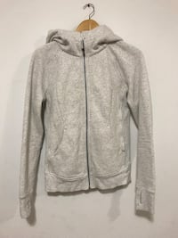 gray zip-up hoodie Vancouver, V6A 4C1