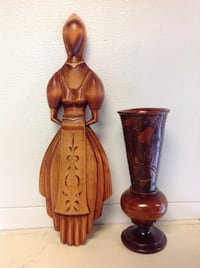 Wooden craved decorative pieces (both for $5.00) North Dighton, 02764