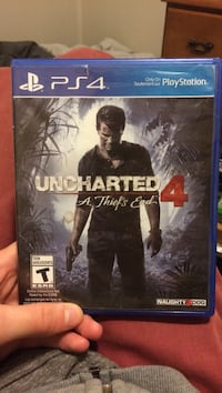 Uncharted 4 PS4 game case Halifax, B4C 2P7