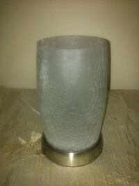 Frosted Glass Accent Lamp