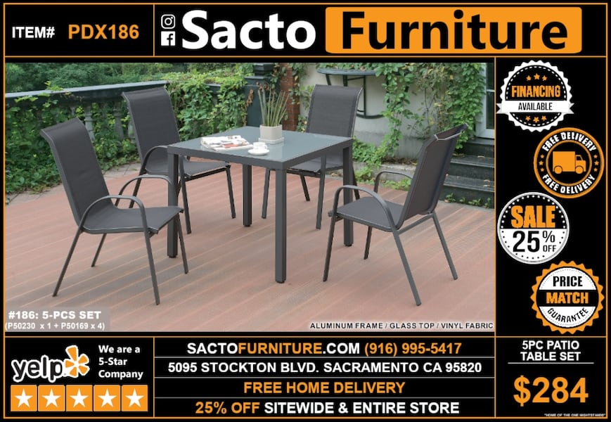 Used Patio Patio Patio Sacto Furniture For Sale In
