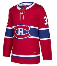Carey Price Authentic Montreal Canadiens Adidas ADIZERO NHL Jersey (RED)  Côte-Saint-Luc, H4W