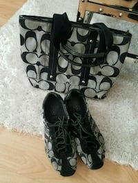 coach purse and sneakers size 8 81/2 Edmonton, T6V