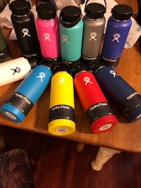 Assorted-color Hydro Flask 21, 24, 32, 40 ounce sizes available Vancouver