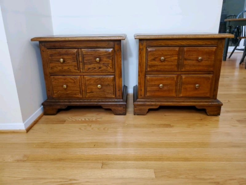 Antique Wooden Night Stands  5