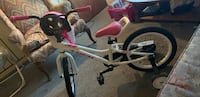 toddler's white and pink bicycle Dover, 07801