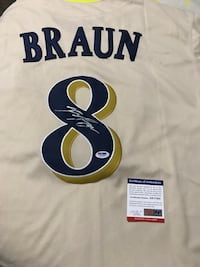 Ryan Braun Autographed Brewers Jersey Possibly a 1 of a kind feel free to ask questions  Knoxville, 37923