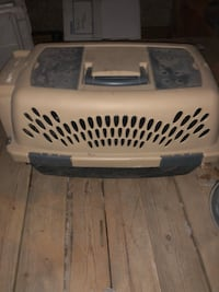 Dog crates 15.00 for smaller one and 20 for larger one.  Oklahoma City, 73118