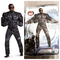 Men's Falcon Costume paid $59 Size XL Sold out everywhere!