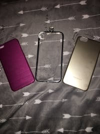 purple, glass, and gray iPhone cases Farmersville, 93223