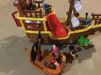 Fisher-Price Disney's Jake and The Never Land Pirates - Bucky ship Middletown, 21769