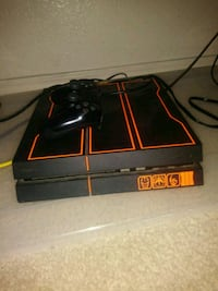 black Sony PS4 console with controller Las Vegas, 89115