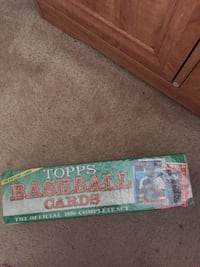 TOPPS FACTORY SEALED 1990 COMPLETE SET OF BASEBALL CARDS