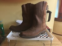 Thick leather boots - well made  Burnaby, V5C 3T8