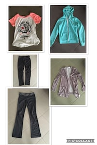 women's several clothes photo collage Edmonton, T6X 0L5