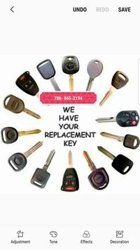 Car keys and Remotes for sale programming included.