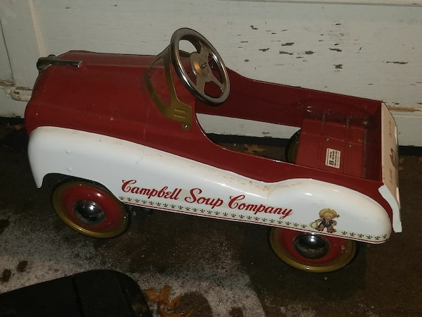 Campbells Used Cars >> Campbell Soup Company Pedal Car