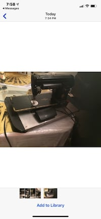 The Singer Manufacture Co Sewing Machine