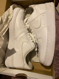 Air force ones , 5 pairs , size 7, 8inna half , 9 & 10 & 7inna half