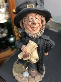 Man wearing black hat and suit figurine St Catharines, L2S 1K2