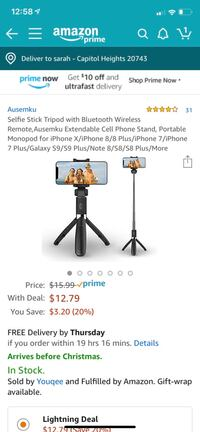 Brand new blue tooth selfie stick Capitol Heights, 20743