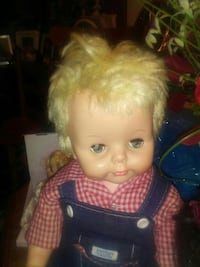 blonde-haired boy doll