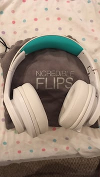 White and teal ncredible flips wireless headphones Mount Airy, 21771