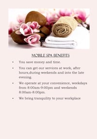 Beauty services Mississauga, L4Y 3V3