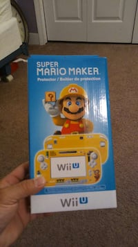 Wiiu MARIO MAKER COVER. Paterson, 07505