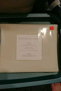 King size Egyptian cotton duvet cover Port Coquitlam, V3B 1K3