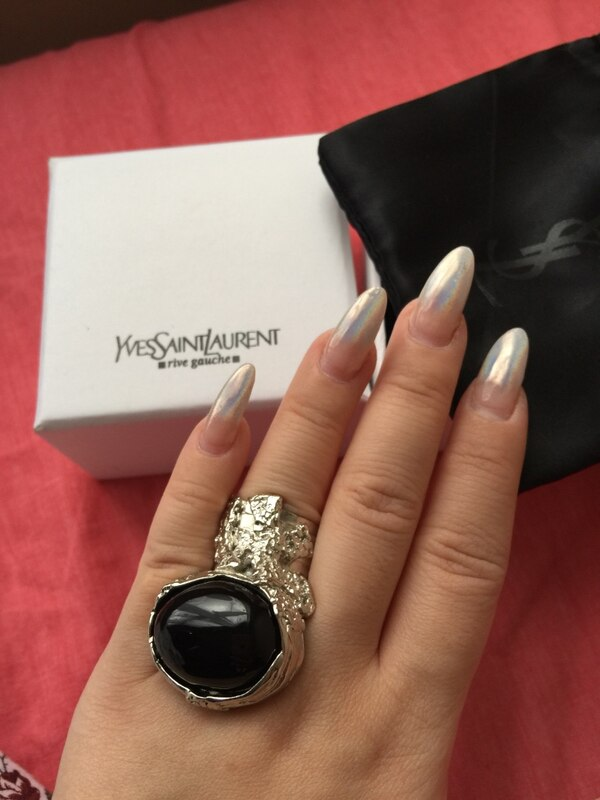 a45dbafd3c6 Used Yves Saint Laurent YSL ARTY RING WITH BOX and packaging US SIZE 7 for  sale in Hong Kong - letgo