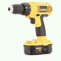 Dewalt drill 18v battery included  Phoenix, 85037