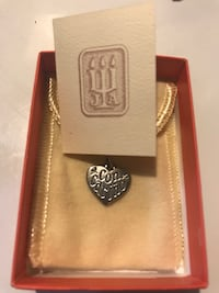 James Avery rare and retired Con Carino heart charm Fort Worth, 76132