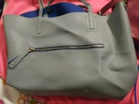 gray and black leather tote bag Modesto, 95356