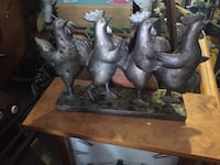 two gray and brown horse figurines Wilmington, 28403