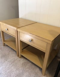 Two side/corner tables