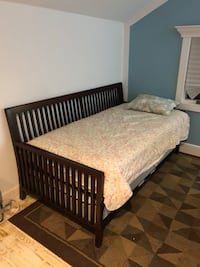 Like New bobs day bed set with pop up trundle bed Rocky Point, 11778