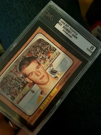 Bobby orr rookie card